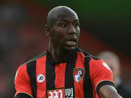 Benik Afobe during a match for Bournemouth. Goal