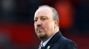 Benitez's contract is up in the summer. GOAL