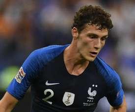 Benjamin Pavard França 2018. Goal