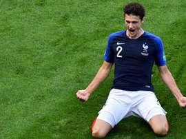 Benjamin Pavard Frankreich. Goal