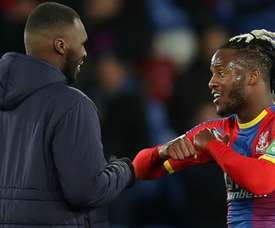 Batshuayi impressed manager Roy Hodgson during the win over Fulham. GOAL