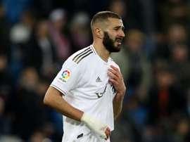 Benzema aurait prolongé au Real Madrid. AFP