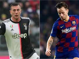 Barça e Juve discutem trocar Rakitic por Bernardeschi. Goal