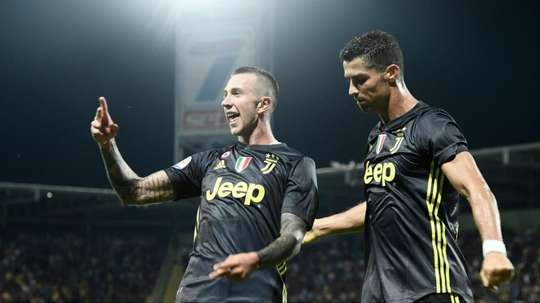 Ronaldo, soutenu. AFP