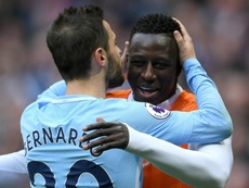 Bernardo Silva e Benjamin Mendy del Man. City. Goal