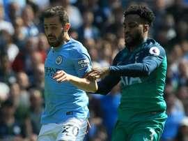 Bernardo Silva admitted nerves got to his side. GOAL