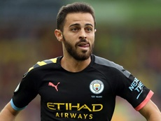 Manchester City : un match de suspension pour Bernardo Silva après son tweet adressé à Mendy. AFP