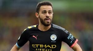Manchester City : un match de suspension pour Bernardo Silva après son tweet adressé à Mendy. AFP