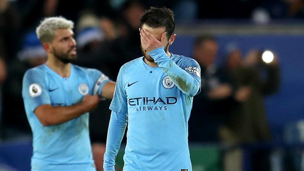 Leicester beat City to pull off second shock