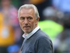 Bert van Marwijk sacked by UAE. AFP