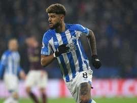 Billing has signed for Bournemouth after Huddersfield relegation. GOAL