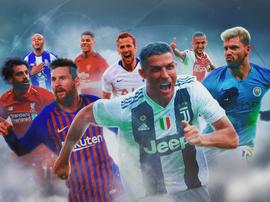 CR7 e Messi só na final.