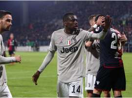 Matuidi says he was right to not walk off the pitch at Cagliari last season. GOAL