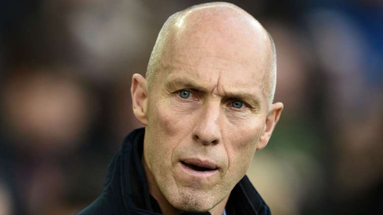 Bob Bradley is currently under pressure at Swansea. Goal