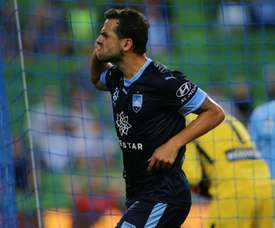 Bobo scored a brace to continue his prolific record. AFP