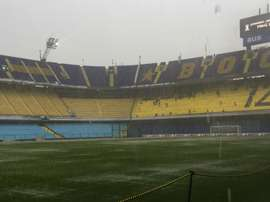 Torrential rain in Buenos Aires meant that the final was postponed. GOAL