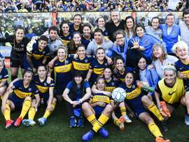 Boca thrash River 5-0 in first women's Superclasico of professional era. GOAL