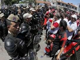 Incidentes marcam festa do título do River Plate na Argentina. Goal