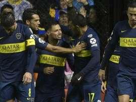 Ex-Cruzeiro e estreante brilham, Boca vence Libertad e abre vantagem nas oitavas da Libertadores