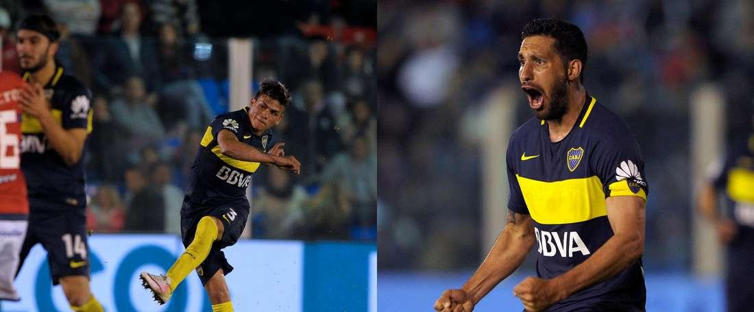 Boca Juniors' Insaurralde and Silva traded blows in training. Goal