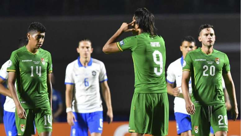 Bolivia are looking to recover from their 3-0 battering by hosts Brazil. GOAL
