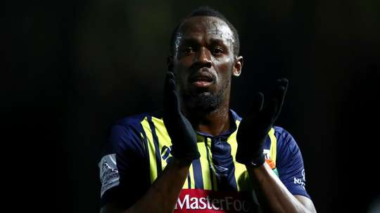 Bolt played for the final 20 minutes. GOAL