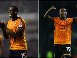 The duo will head into the Premier League with Wolves. GOAL
