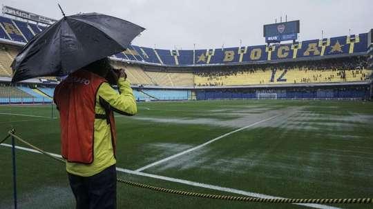 As fortes chuvas adiaram a grande final. Goal