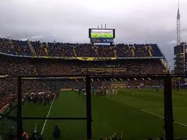 La Bombonera o caldeirão do Boca. Goal