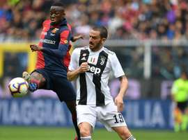 Bonucci not worried about Juve defeat. GOAL