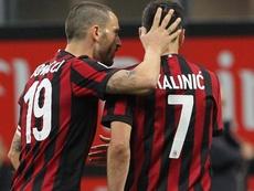 Il commento di Kalinic a Bonucci. Goal