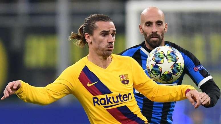 Inter, Borja Valero ammette: 'Non ci aspettavamo il Barcellona col 3-5-2'