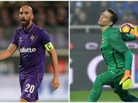 Spalletti cools talk of Valero, Szczesny to Inter. AFP