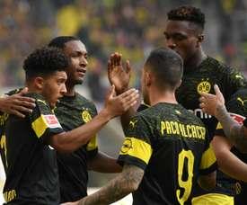 Borussia Dortmund celebration Jubel. Goal