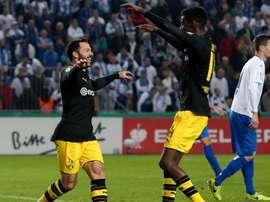 Bosz praised Alexander Isak for taking his chance inDortmund's DFB-Pokal win. GOAL