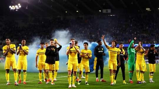 Dortmund grabbed a late winner. GOAL