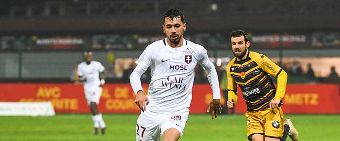 Farid Boulaya prolonge à Metz. GOAL