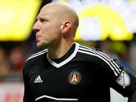 Guzan was sent down the tunnel. GOAL