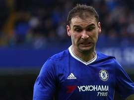 Bransilav Ivanovic qux couleurs de Chelsea. GOAL