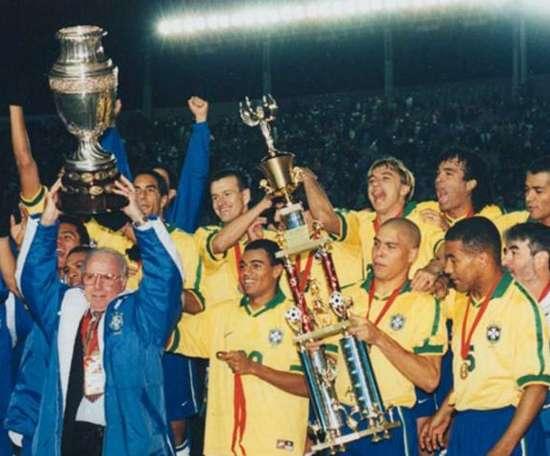 Brasil Copa das Confederações 1997. Goal