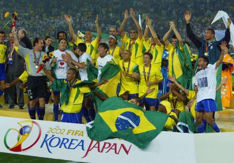 Todos os números da Seleção Brasileira em Copas do Mundo - BeSoccer c02c3c81c119b