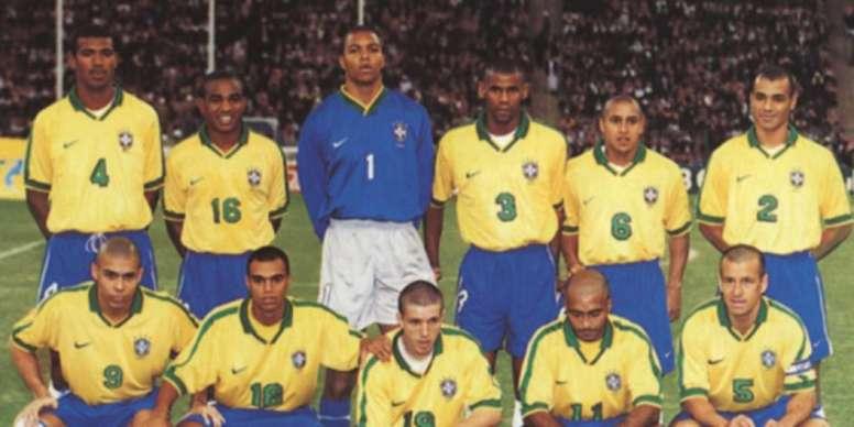 Brasil x Arábia Saudita 1997. Goal