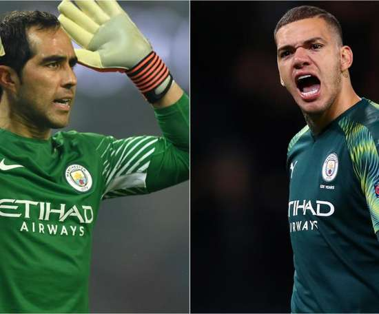 Claudio Bravo will start against Liverpool due to Ederson's injury. GOAL