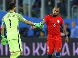Bravo turned down his call-up to the Chilean squad. GOAL