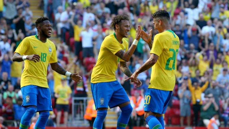 Brazil are the favourites according to Opta. GOAL