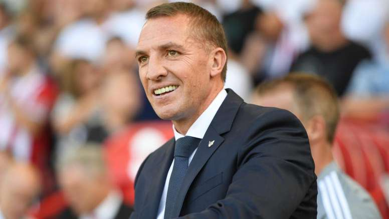 Brendan Rodgers denies he wants to leave Leicester to join Arsenal. GOAL