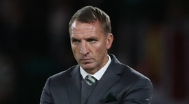 Rodgers' Celtic will face Hearts in Scottish League Cup semi-final. GOAL