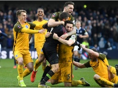 Brighton book their place in the semis in dramatic fashion. GOAL