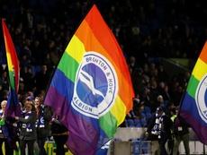 Brighton, against homophoby.