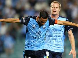 Sydney FC came from behind to beat 10-man Melbourne City 3-1 on Friday. GOAL